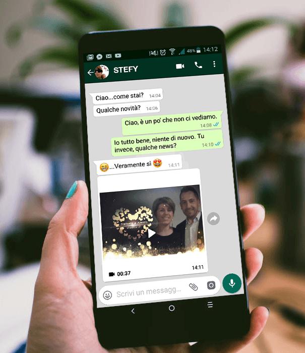 Videopartecipazione con WhatsApp